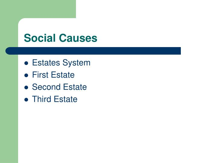 Social Causes