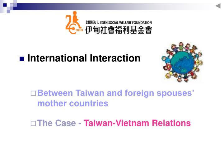 International Interaction
