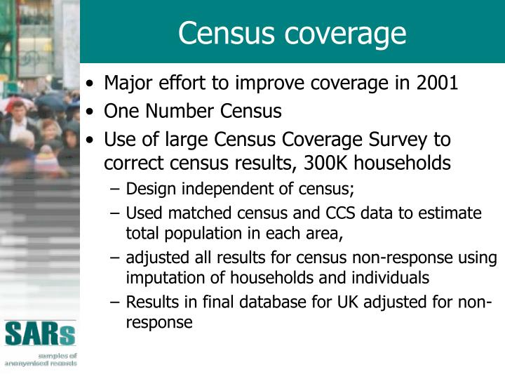 Census coverage