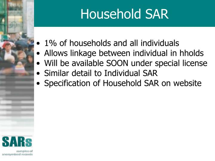 Household SAR