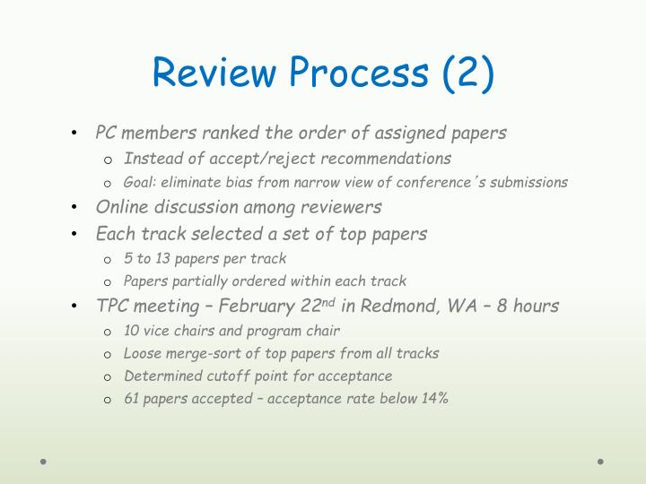 Review Process (2)