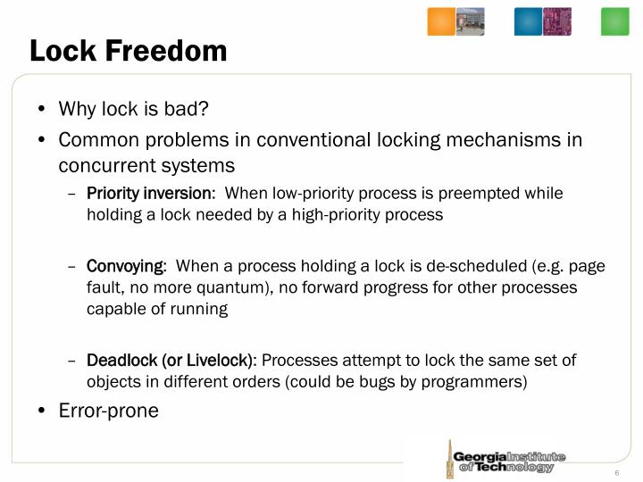 Lock Freedom