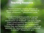 teaching resource