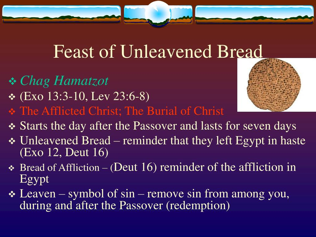 PPT - Christ in Old Testament Feasts PowerPoint Presentation