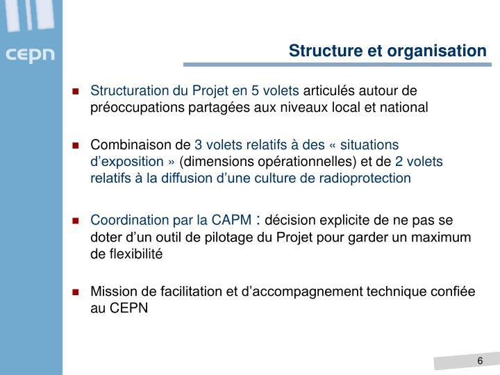 Structure et organisation