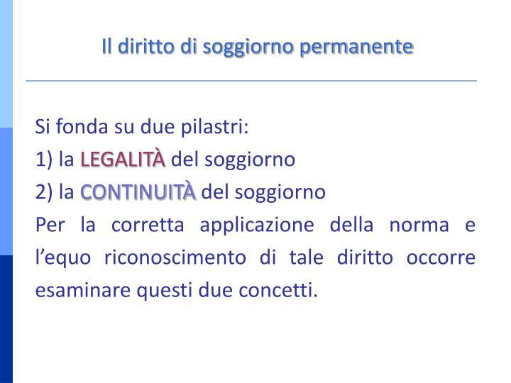 Best Diritto Di Soggiorno Permanente Contemporary - Design and Ideas ...