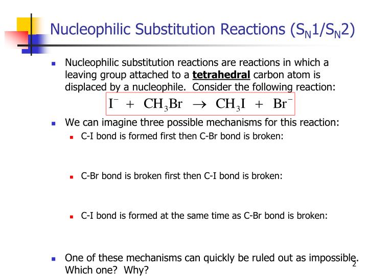 title nucleophillic substitution reaction Transition metal catalyzed nucleophilic fluorination c(sp2)-f bond construction ar-f bond formation • s n ar nucleophilic substitution: harsh reaction conditions & substrate bearing electron-withdrawing group.