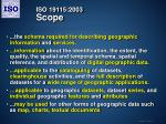 iso 19115 2003 scope