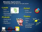 metadata applications understanding the right data for the right purpose