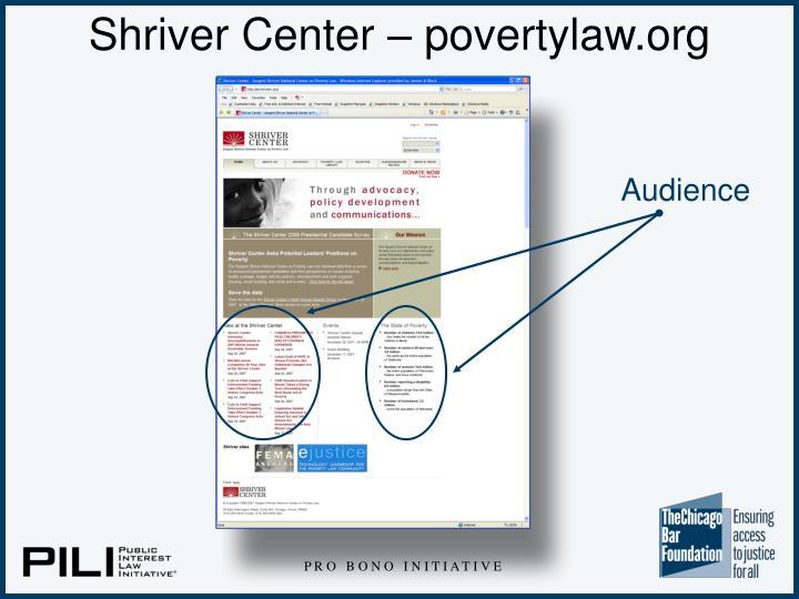 Shriver Center – povertylaw.org