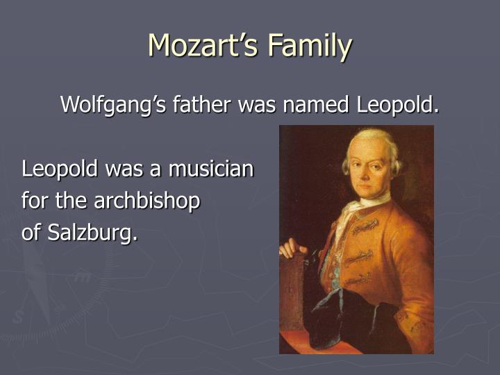 Mozart s family