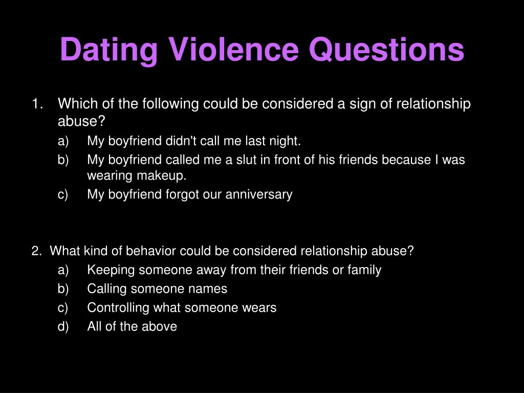 PPT - TEEN DATING VIOLENCE PowerPoint Presentation, free