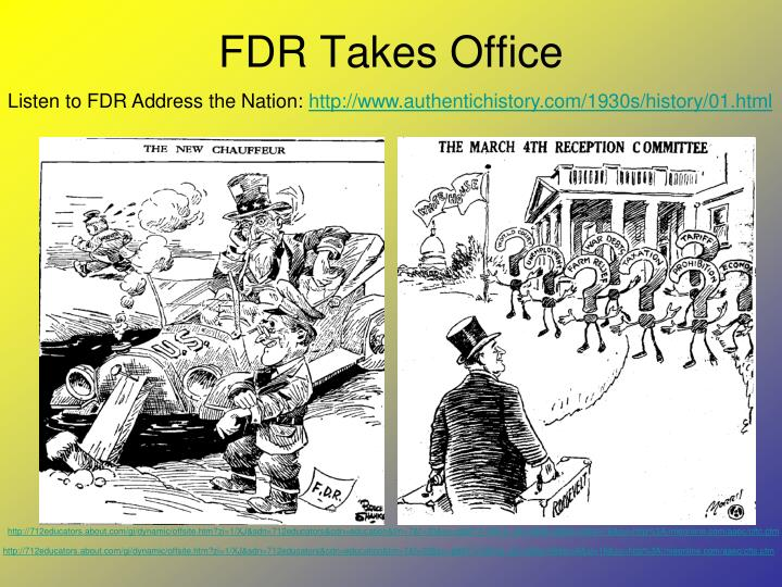 FDR Takes Office