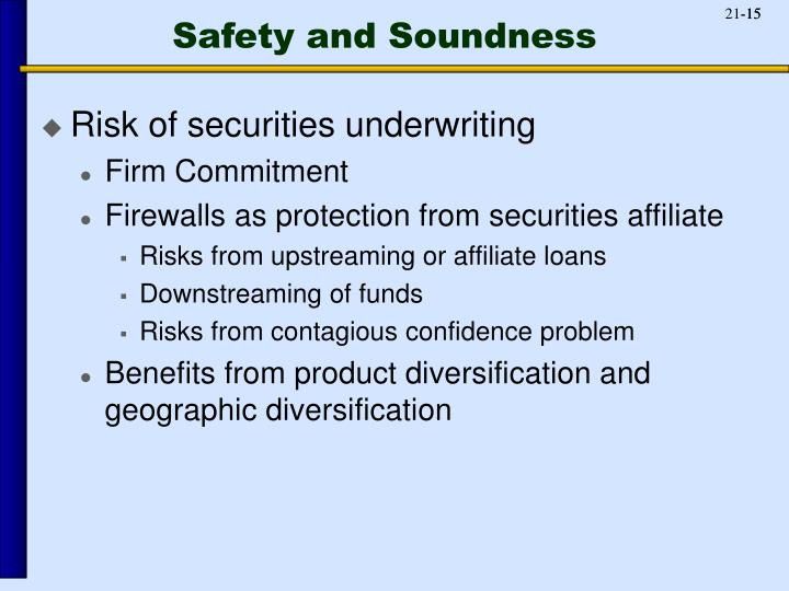 Safety and Soundness
