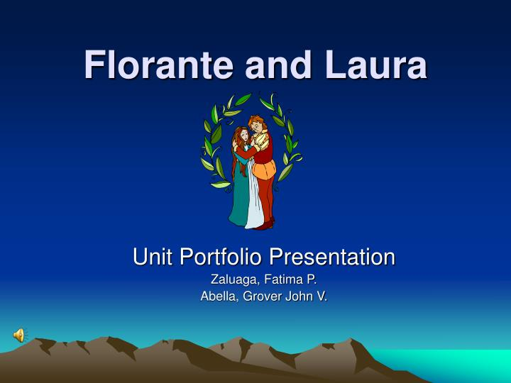 Florante and laura