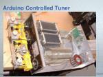 arduino controlled tuner