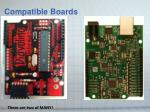 compatible boards