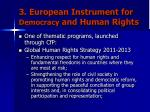 3 european instrument for democracy and human rights