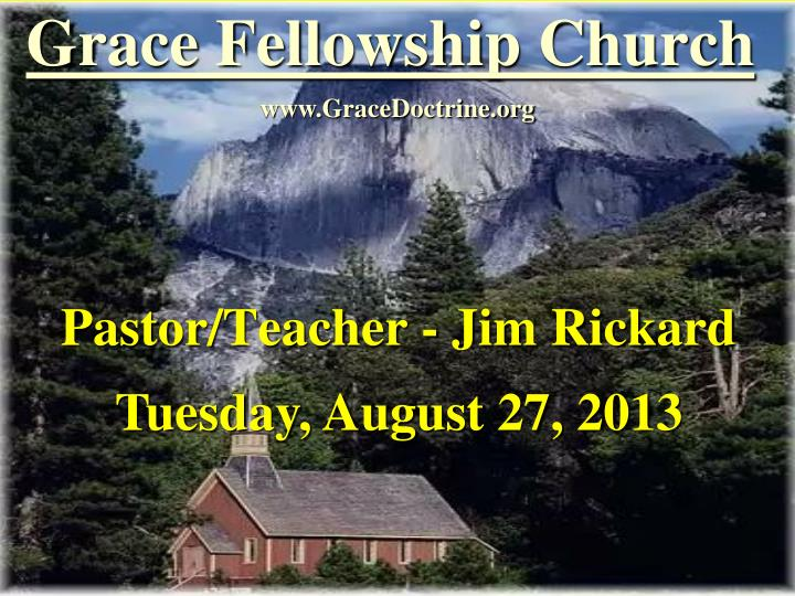 grace fellowship church n.