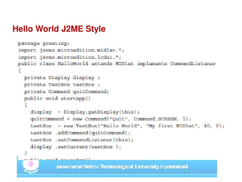 J2me Loader Settings