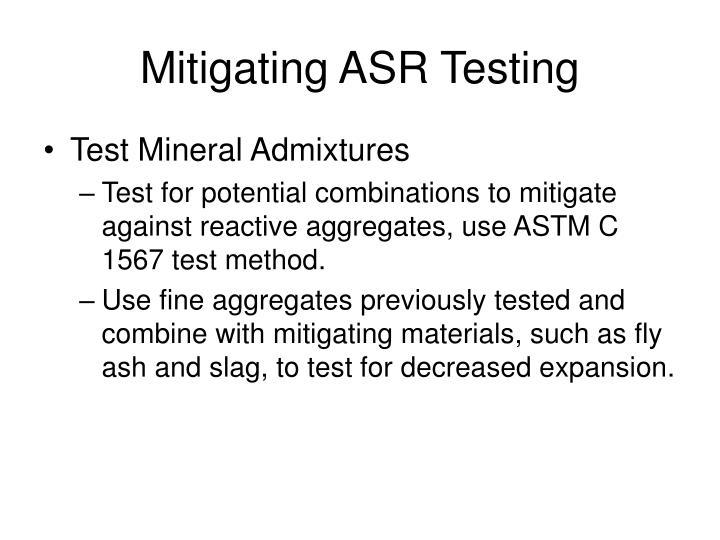 Mitigating ASR Testing