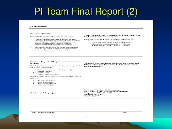 PI Team Final Report (2)