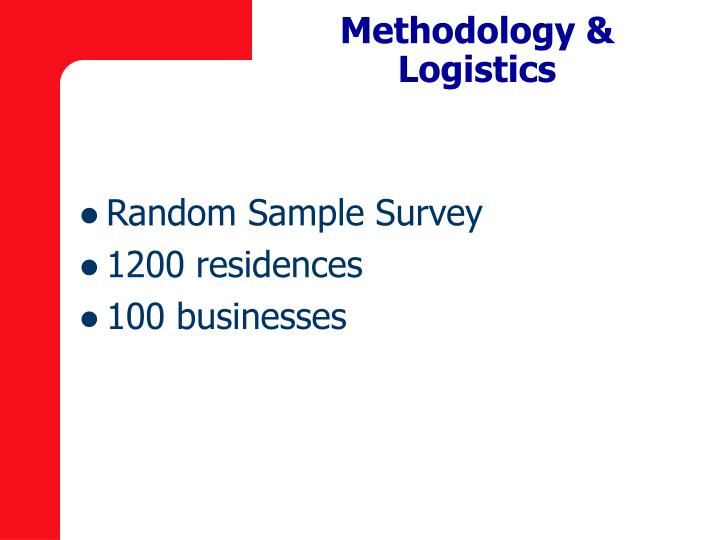 Methodology & Logistics
