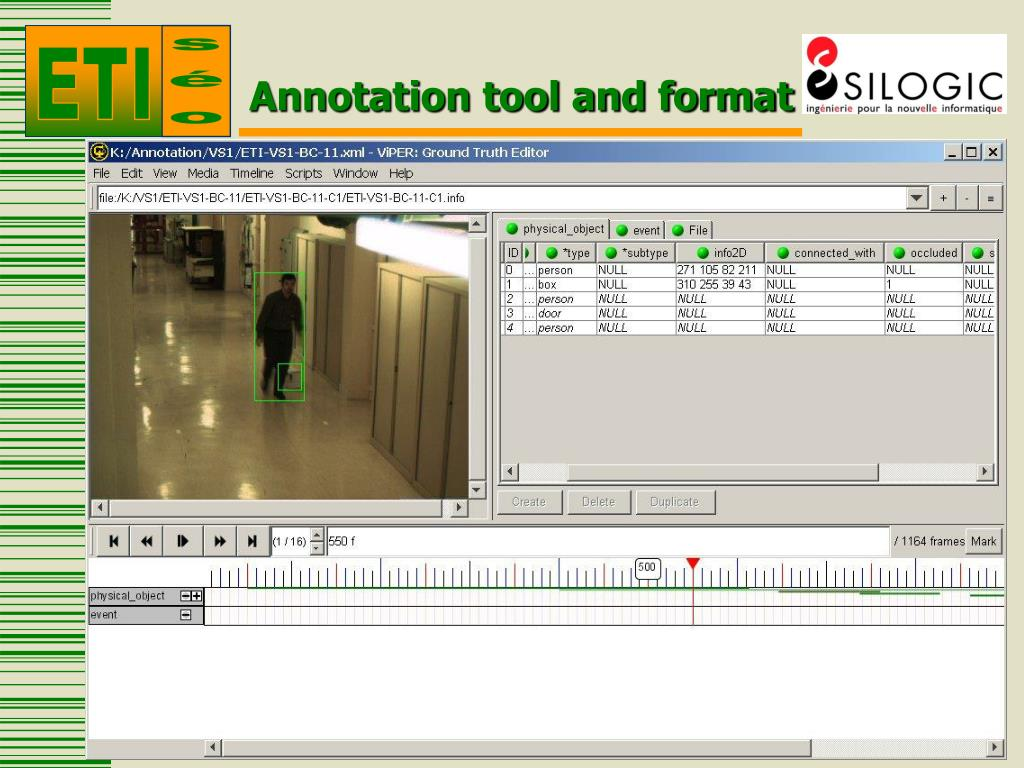 PPT - ETISEO Annotation rules PowerPoint Presentation - ID
