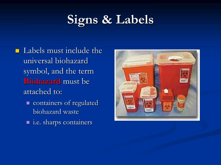 Signs & Labels