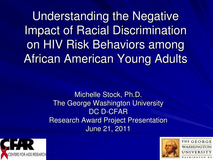 understanding the problem of racial discrimination in the united states Are americans really champions of discussion of racial discrimination in the united states  stated that the race problem in the united states was a.
