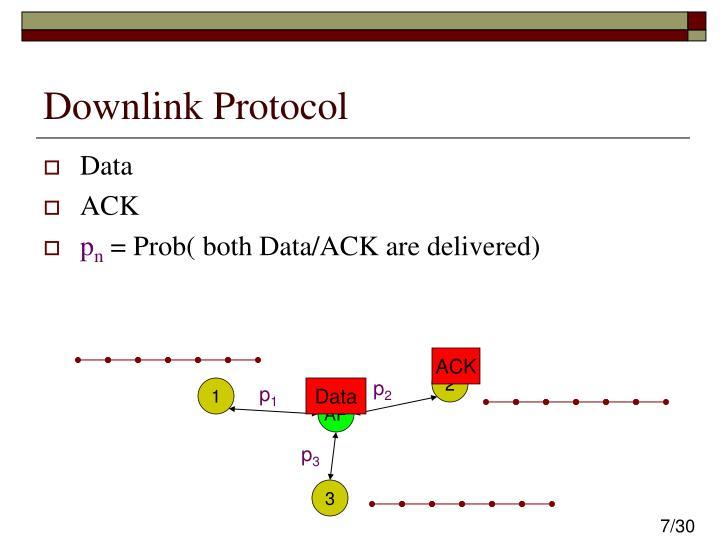 Downlink Protocol