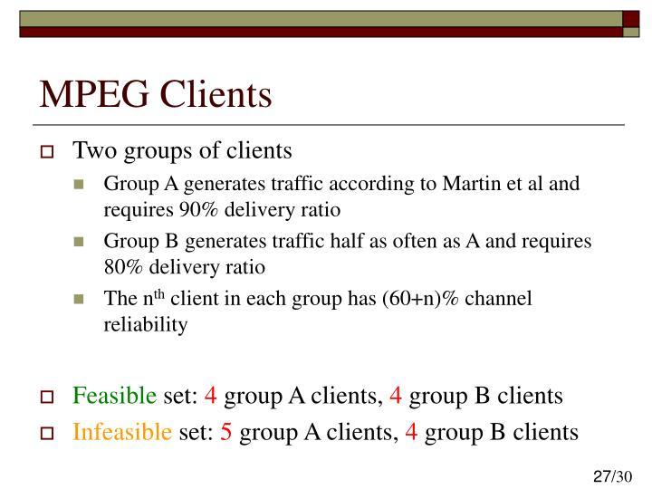 MPEG Clients