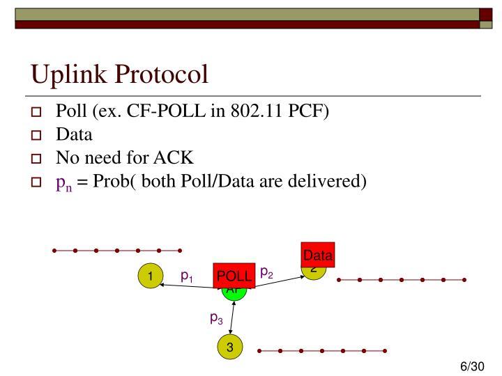 Uplink Protocol