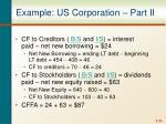 example us corporation part ii