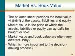 market vs book value