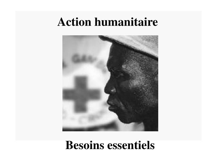 Action humanitaire