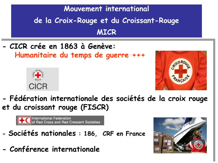 Mouvement international