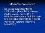 m surile preventive17