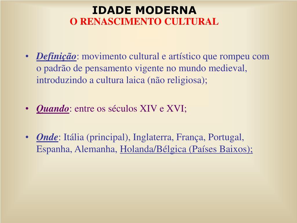 PPT - Diferenças entre o pensamento medieval e o renascentista  PowerPoint  Presentation - ID 3752767 2e71775a49ee5