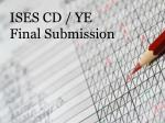 ises cd ye final submission