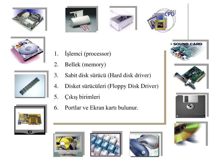 İşlemci (processor)