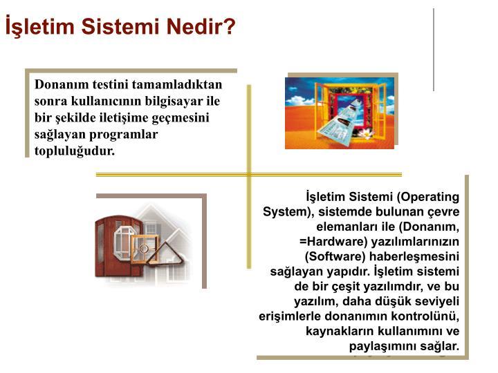 İşletim Sistemi Nedir?
