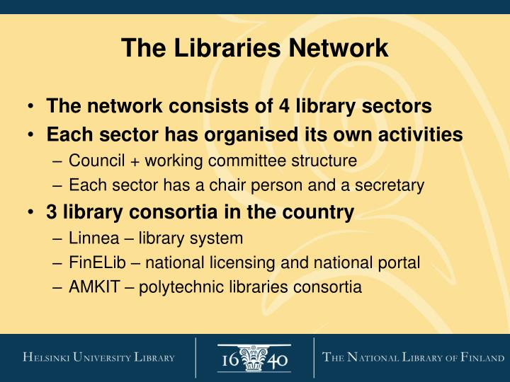 The Libraries Network