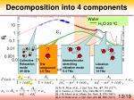 decomposition into 4 components