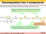 decomposition into 4 components1