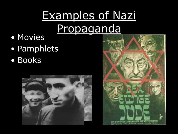 Examples of Nazi Propaganda