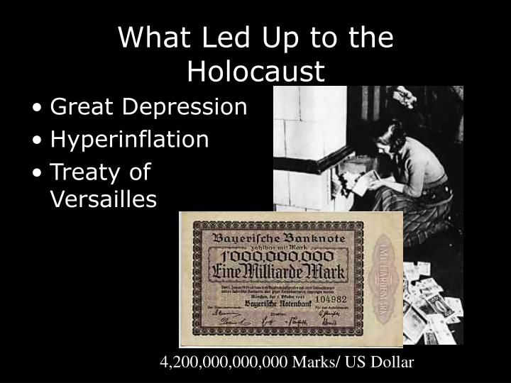 What Led Up to the Holocaust
