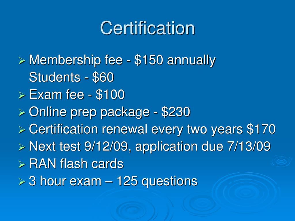 certification acrp research coordinator clinical program ppt powerpoint presentation exam