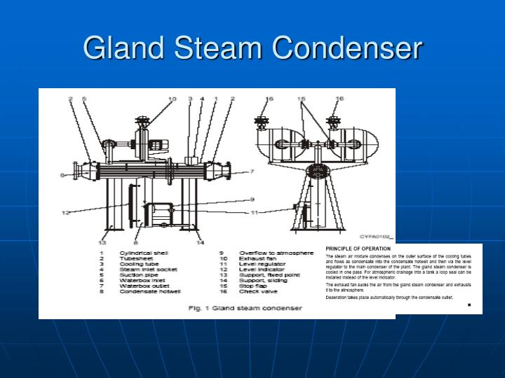 Gland Steam Condenser
