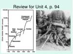 review for unit 4 p 94